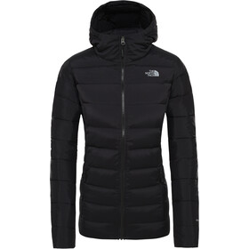 The North Face Stretch Down Hooded Jacket Women TNF Black